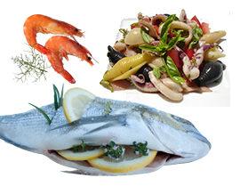 Fischsorten & Meeresfrüchte