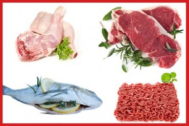 Fleisch / Fisch / Geflügel